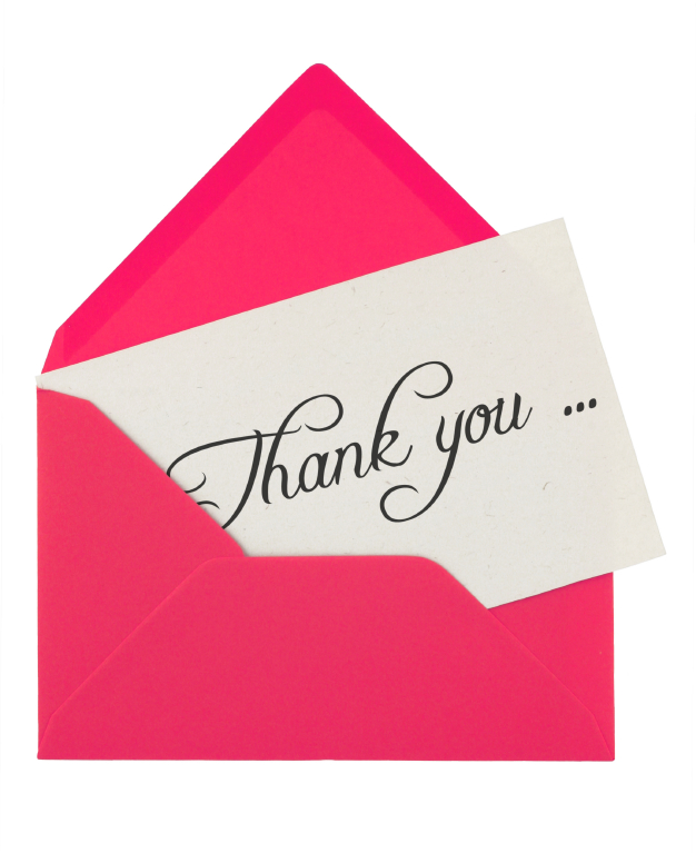 Examples of words for thank you notes negle Images