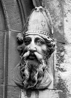 bust of Saint Patrick