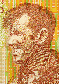 Portrait of Sir Edmund Hillary