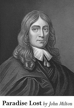 portrait of poet John Milton
