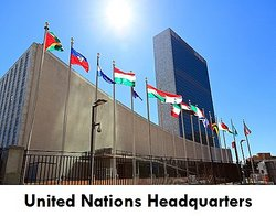 Capitalize United Nations Headquarters, New York