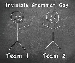 Invisible grammar guy game for kids