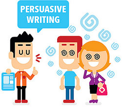 Persuasive Essay Writing Made Easy Illustration Of One Person Showing Persuasive Writing To Two Others I Need Someone To Write My Literature Review also Essays On Business Ethics  Business Plan Writers In Boston