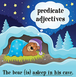Predicate Adjectives Worksheet