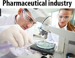 Pharmaceutical lab technicians