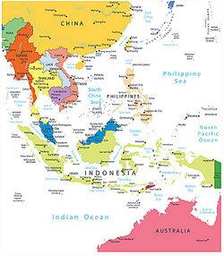Austronesian And Australian Languages - Australian language map