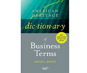 American Heritage Dictionary of Business Terms book cover
