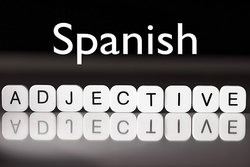 Spanish adjectives