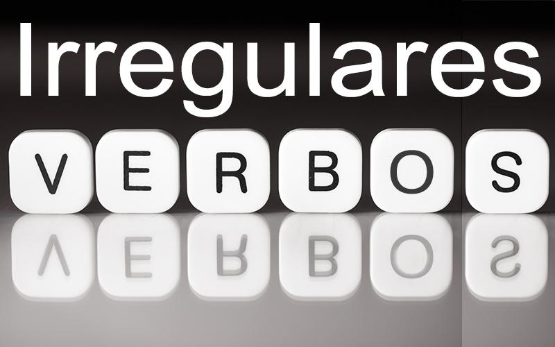 irregulares verbos