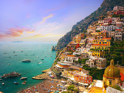 Picturesque town of Positano, Italy