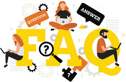 FAQ question and answer