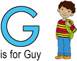G is for Guy