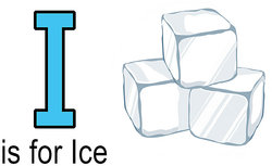 I is for Ice