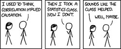 causation comic strip by xkcd.com