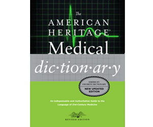 American Heritage Medical Dictionary book cover