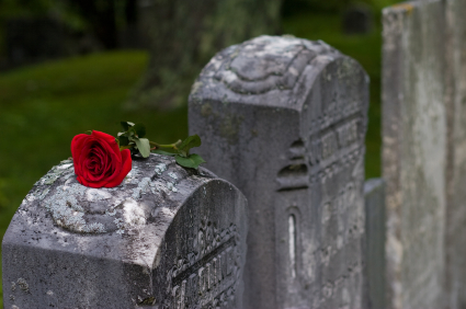 White lilies' – personalised book of condolence – condolence book.