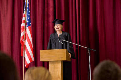sample testimonial speech for graduation
