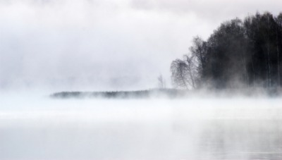 Fog is an example of vapor.