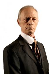 This man looks unfriendly.