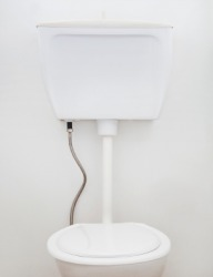 A toilet tank is an example of a cistern.