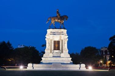 A civil war memorial in Virginnia.