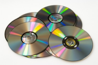 A pile of discs.