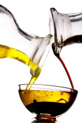 This mixture of oil and vinegar is an emulsion.