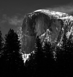 This work by Ansel Adams is an example of fine art photography.