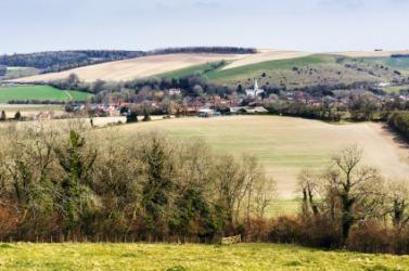 Beautiful countryside in the Hants.