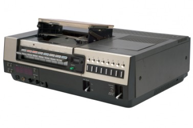 A VCR player is obsolete technology.