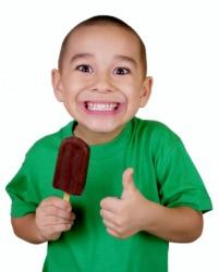 Oh boy, ice cream!