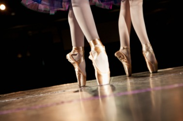 Dancing is an example of to act.