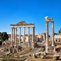 A fora in Rome.