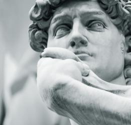 Michelangelo's David is a masterpiece.