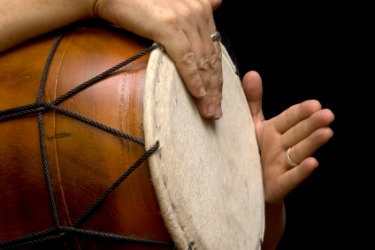 The drum is a percussion instrument.