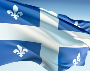 Que is the abbreviation for Quebec.