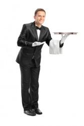 A butler is a servant.