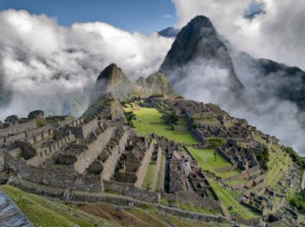 Machu Picchu in Peru is a colossal ruin.