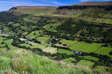 A glen in County Antrim, Ireland.
