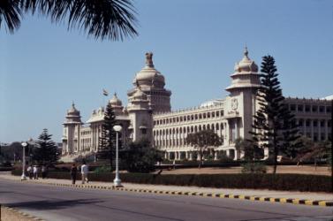 The Indian state of Karnatake, where Kannada is spoken.