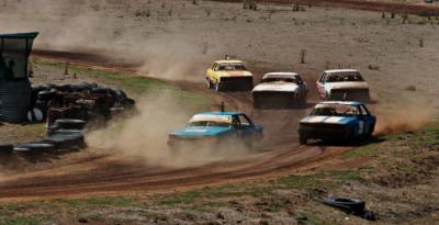 A NASCAR race.