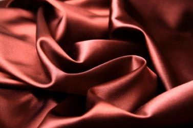Satin has a smooth texture.