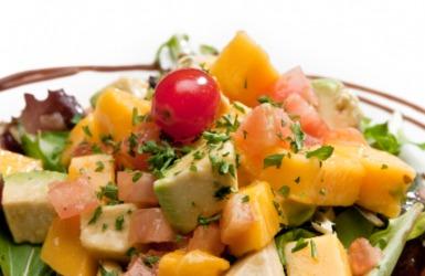 A vegan salad.