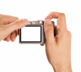 A compact camera.