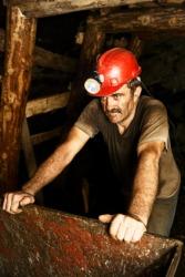 Coal mining is a demanding job.