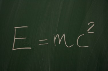 Einstein's equation.