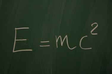 Einstein's equation.