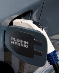 A car that runs on both electricity and gas is a hybrid.