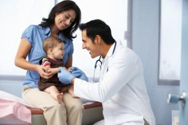 A doctor practices medicine.