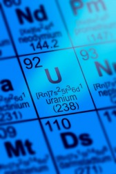 Uranium is radioactive.